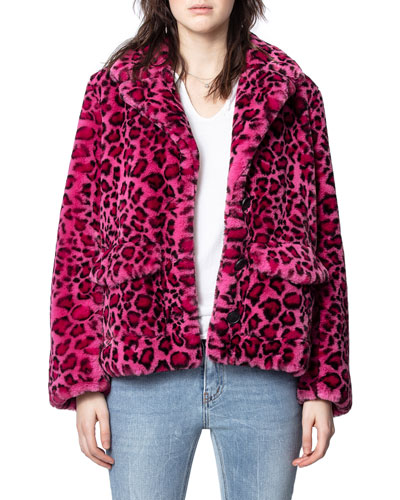 Lila Faux-Fur Jacket