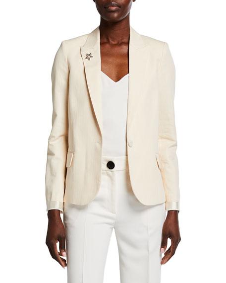 Zadig & Voltaire Victor Cotton Suit Jacket