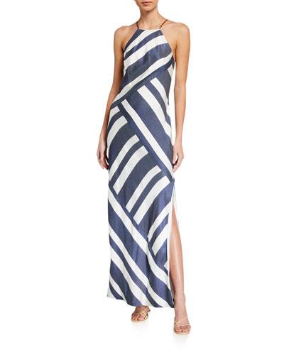 Vacay Halter Maxi Dress