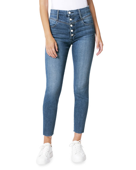 Joe's Jeans The Hi Honey Cropped Skinny Denim Jeans