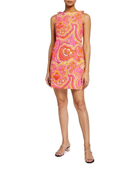 Trina Turk Encantader Sleeveless Shift Dress