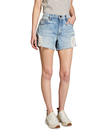 FRAME Le Ultra Baggy Denim Shorts