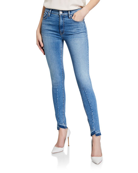 Hudson Barbara Cropped Skinny Jeans