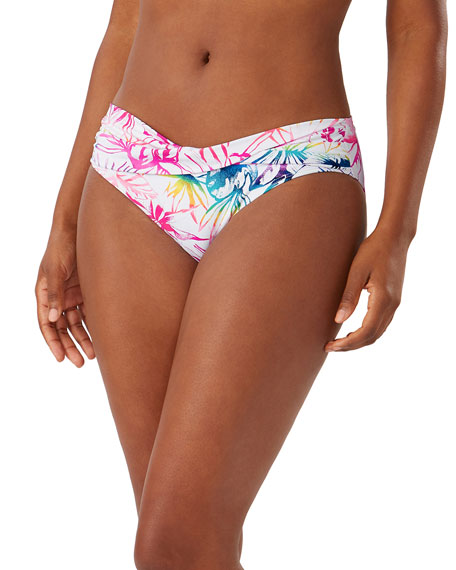 Tommy Bahama Rainbow High-Waist Bikini Bottom