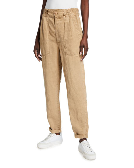 AMO Denim Drapey Army Pants