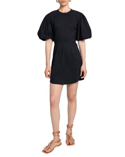 Jessie Puff-Sleeve Dress