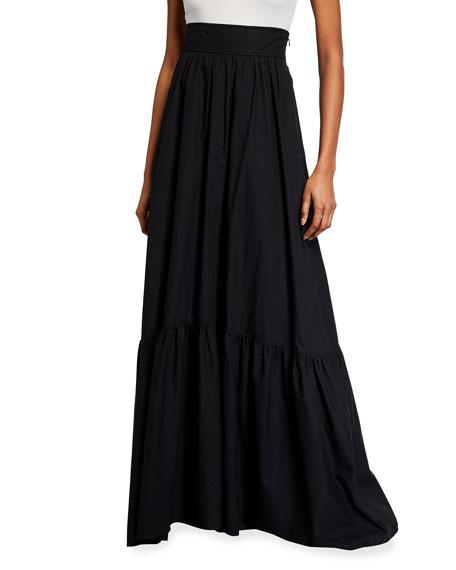 A.L.C. Lila High-Waist Long Skirt
