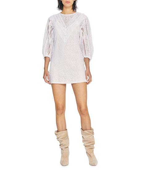 Iro Involve Lace Mini Dress
