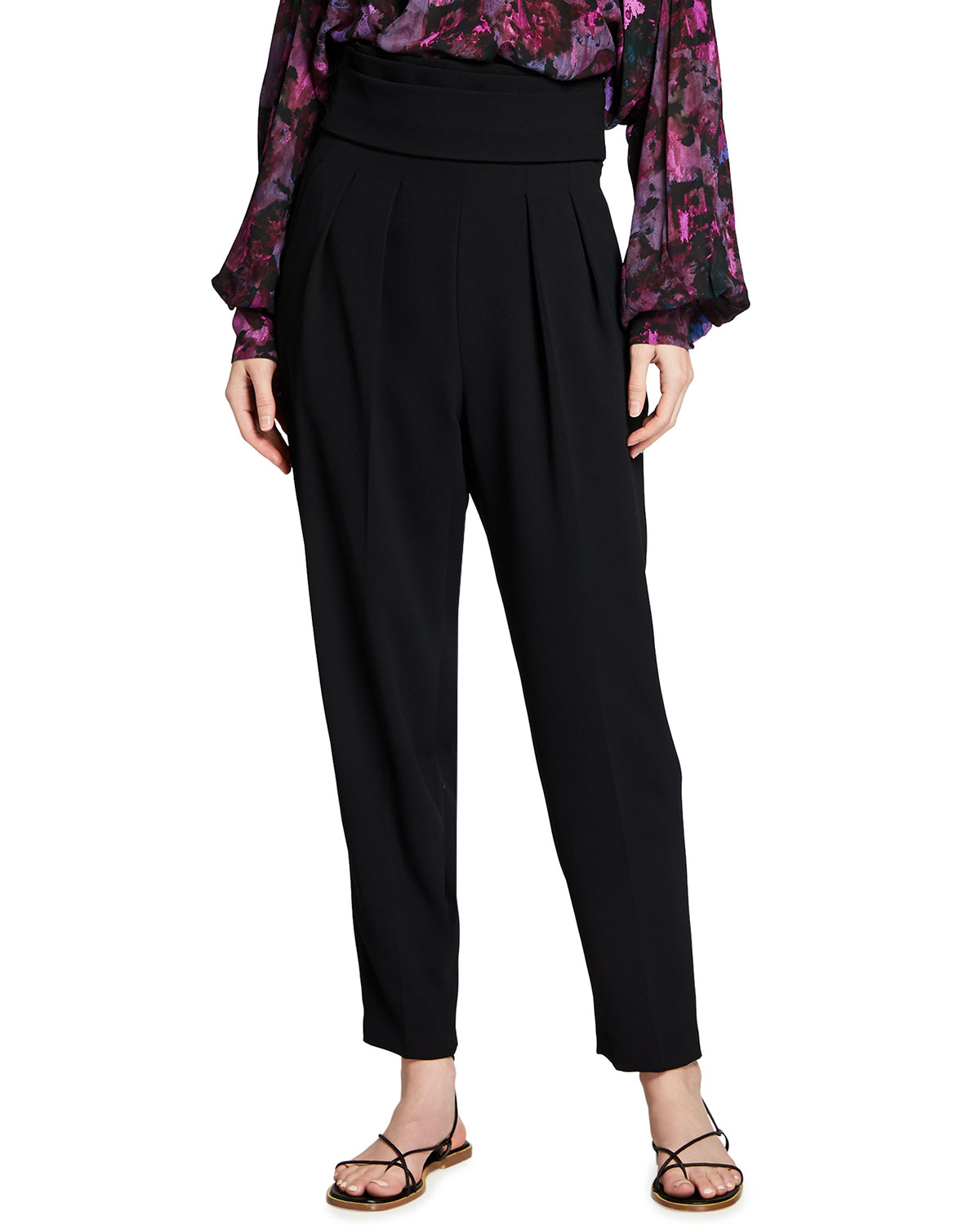 Irmin High-Rise Tapered Pants