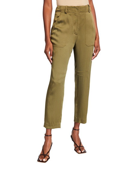 Veronica Beard Miranda Twill Pants