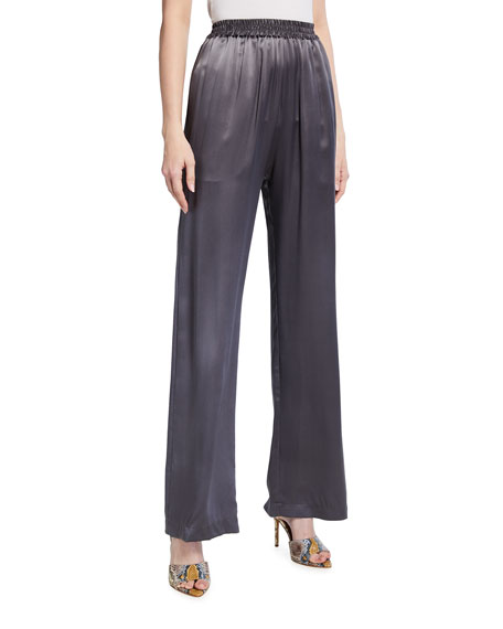 Sablyn Penelope Silk Pull-On Pants