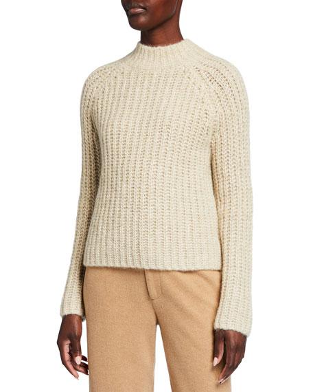 Vince Marled Raglan-Sleeve Pullover