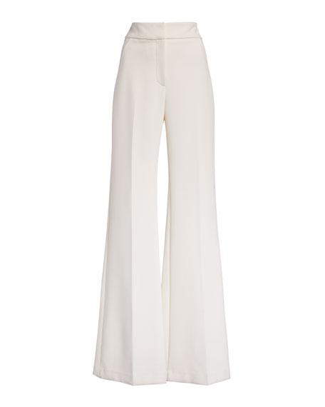 Veronica Beard Lebone Wide-Leg Pants