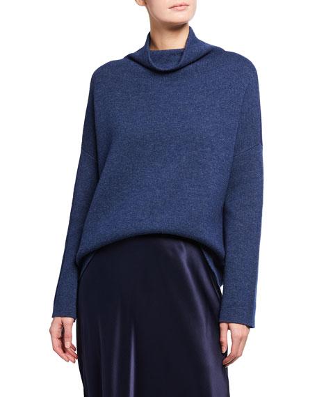 Vince Funnel-Neck Wool-Blend Sweater