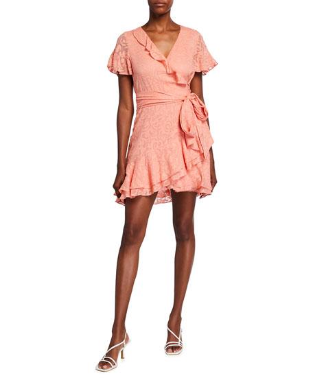 Tanya Taylor Bianka Patterned Silk Mini Dress