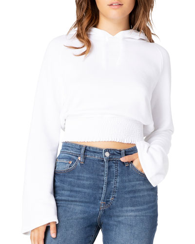 Lets Smock About It Cropped Hoodie
