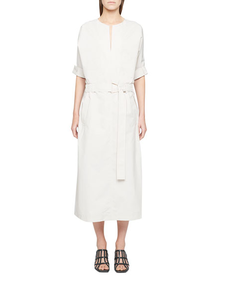 3.1 Phillip Lim Belted Dolman-Sleeve Dress