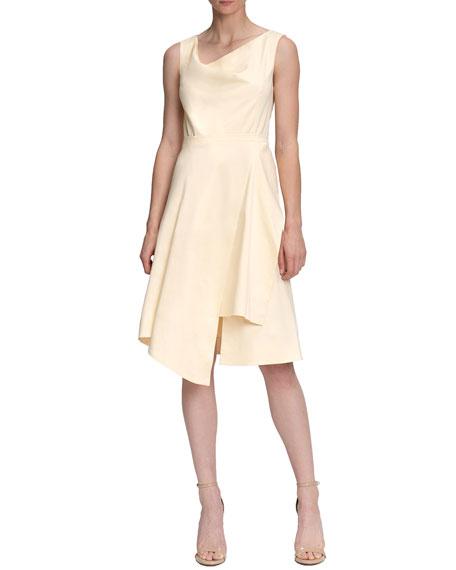 Santorelli Shirley1 Asymmetric Sleeveless Dress