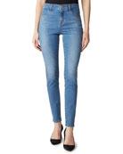 J Brand Maria High-Waist Skinny Jeans