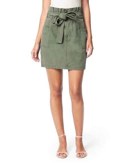 Joe's Jeans Paperbag Utility Skirt