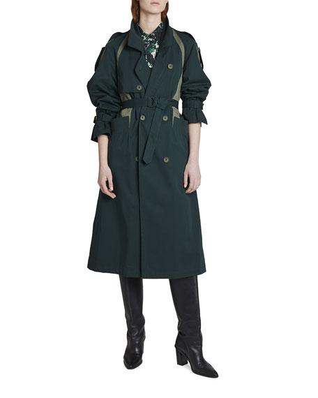 Kenzo Colorblock Trench Coat