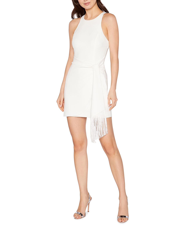 Bristol Short Dress w/ Fringe Belt