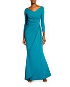 Chiara Boni La Petite Robe Charisse Gathered Gown