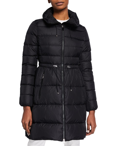 Moncler Malban Fitted Down Jacket