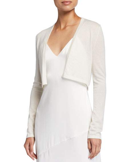 Neiman Marcus Cashmere Collection Superfine Cashmere Shrug