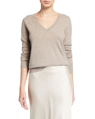 V Neck Cashmere Sweater | Neiman Marcus