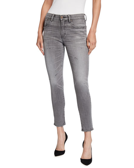MOUSSY VINTAGE Helix Ankle Skinny Jeans