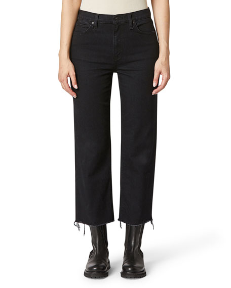 Hudson Remi High-Rise Crop Straight Jeans