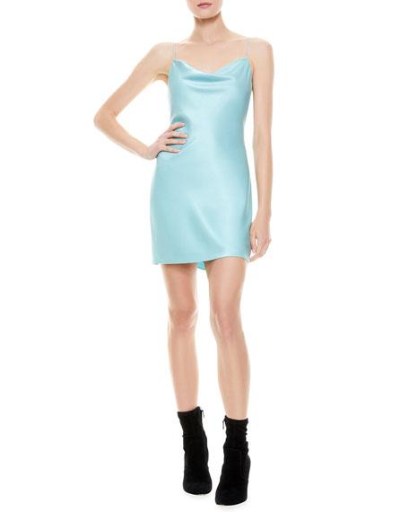 Alice + Olivia Nelle Spaghetti Strap Mini Dress