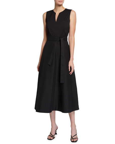 Lafayette 148 New York Janelle Sleeveless Midi Dress