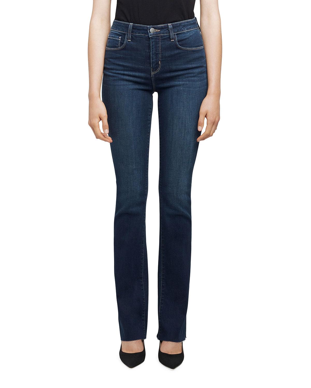 Ruth High-Rise Straight-Leg Jeans