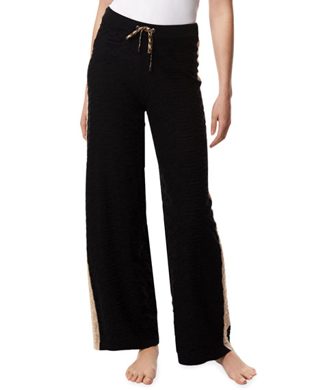 Lisa Todd Cozy Pull-On Textured Lounge Pants