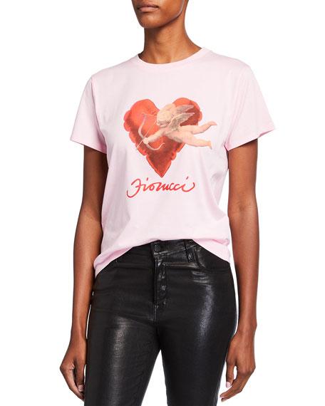 Fiorucci Angel Heart Logo Tee