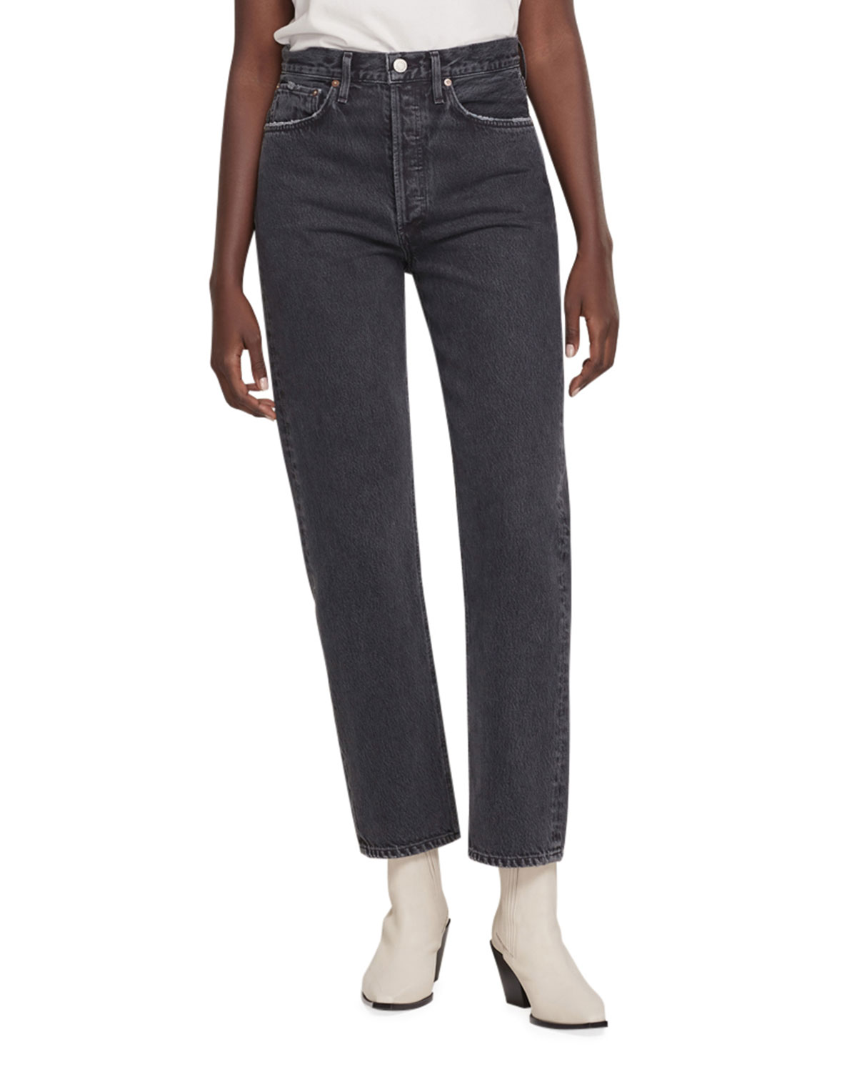 Agolde 90S HIGH-RISE PINCHED-WAIST JEANS