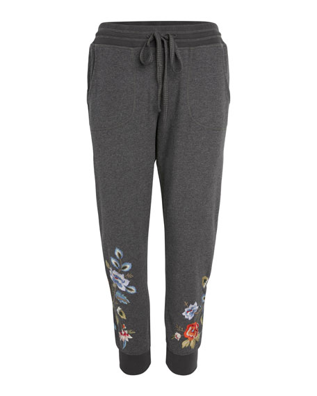 Johnny Was Renata French Terry Jogger Pants