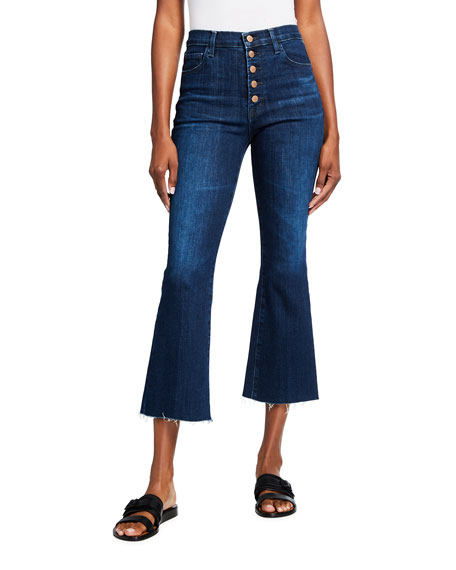 J Brand Lillie High-Rise Flare Jeans
