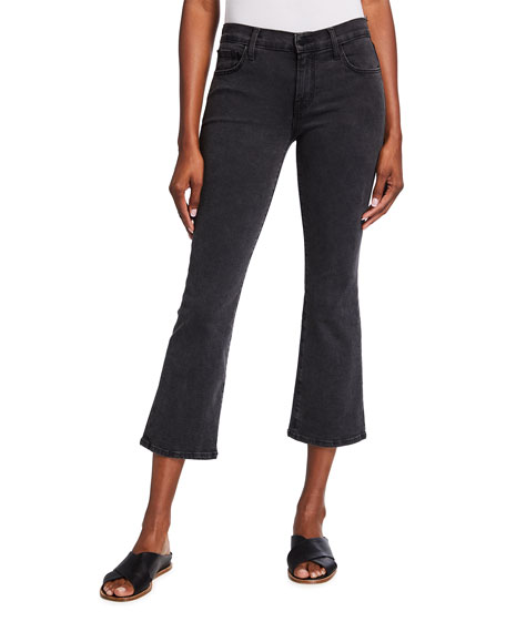 J Brand Selena Mid-Rise Crop Jeans