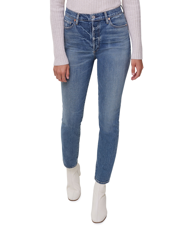 Olivia High-Rise Slim Jeans