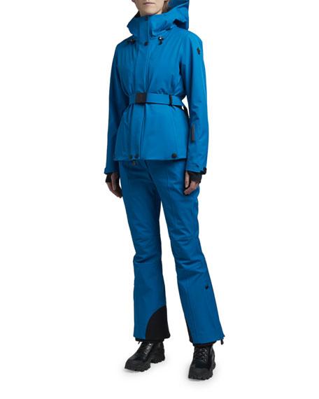 Moncler Grenoble Lignan Technical Hooded Ski Jacket