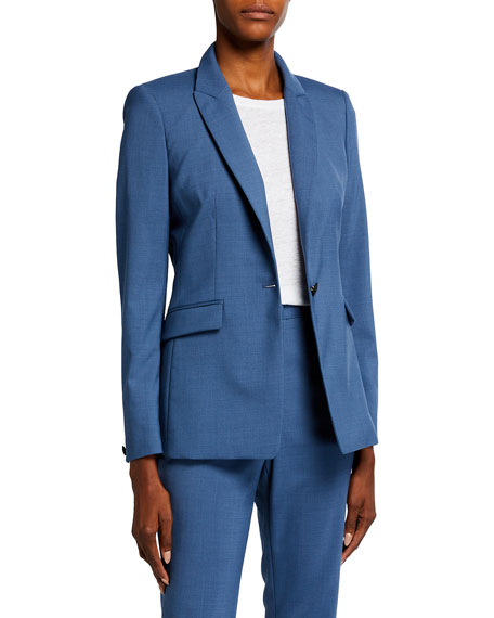Rag & Bone Hazel One-Button Blazer