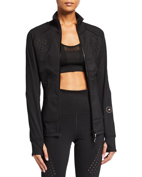 adidas by Stella McCartney Truepurpose Zip-Front Track Jacket with Ventilation