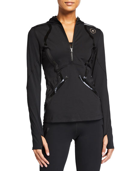 adidas by Stella McCartney Truepurpose Hooded Long-Sleeve Athletic Pullover
