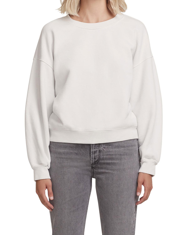 Agolde Sweatshirts BALLOON-SLEEVE SWEATSHIRT