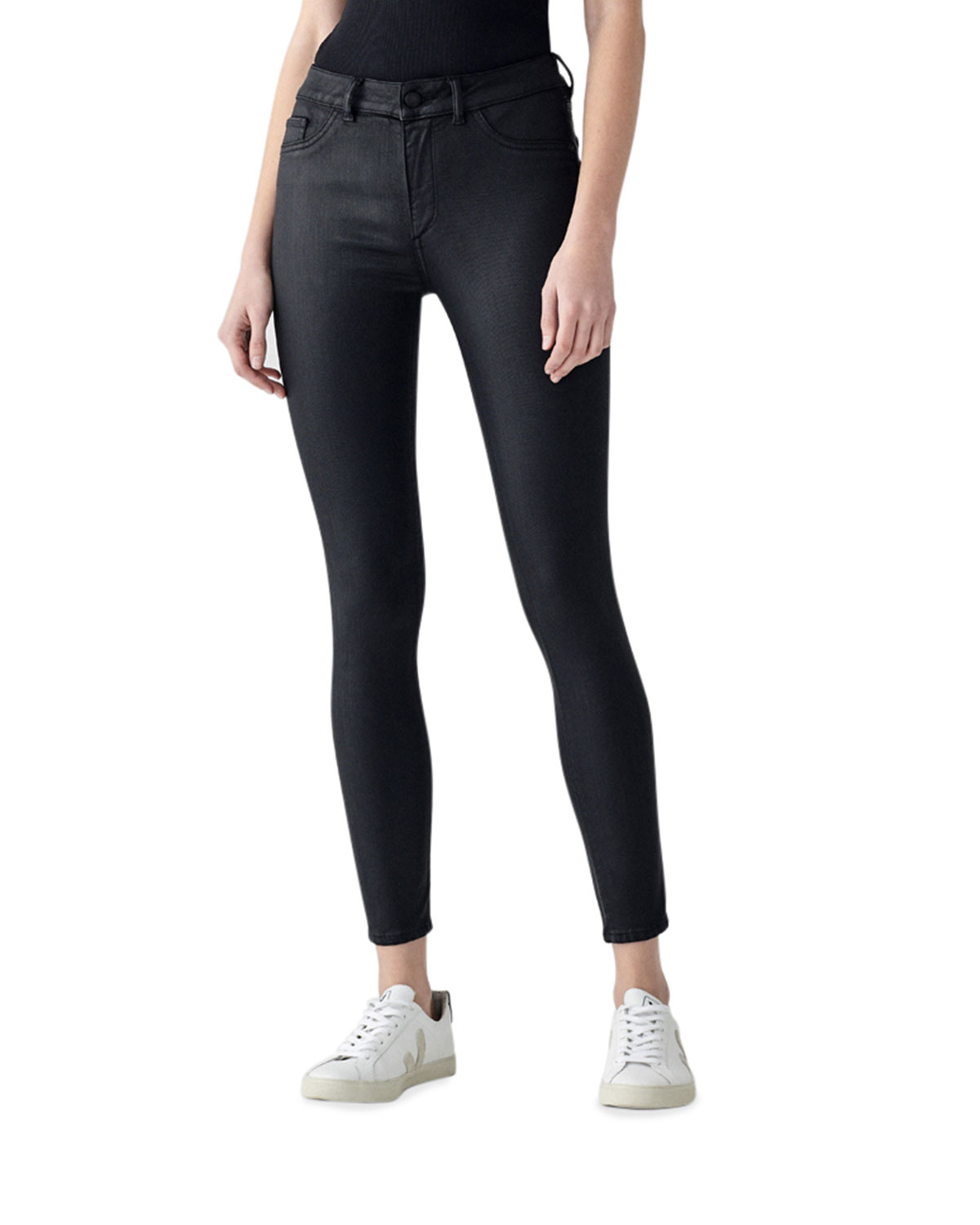 Florence Ankle Mid-Rise Skinny Jeans