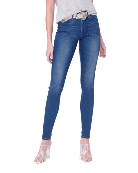 Midheaven Denim Langston High-Rise Indigo Skinny Jeans