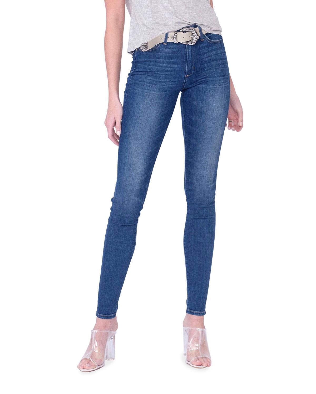 Langston High-Rise Indigo Skinny Jeans